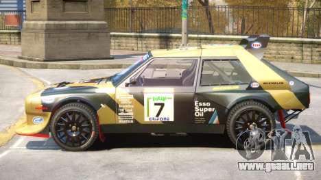 Lancia Delta Rally V1 PJ para GTA 4