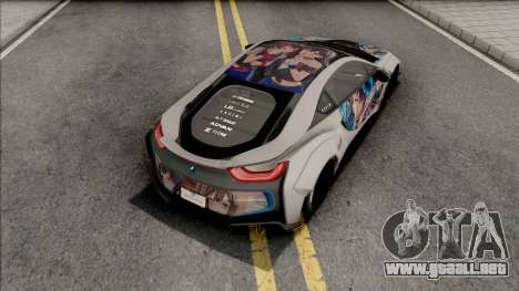 BMW i8 2017 Liberty Walk para GTA San Andreas