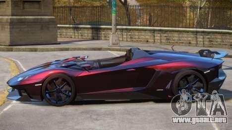 Aventador Roadster V1 para GTA 4