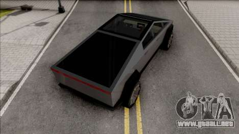 Tesla Cybertruck 2020 Low Poly para GTA San Andreas