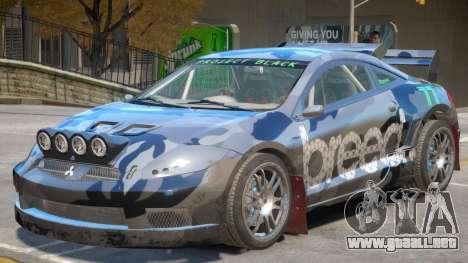 Mitsubishi Eclipse Rally PJ4 para GTA 4
