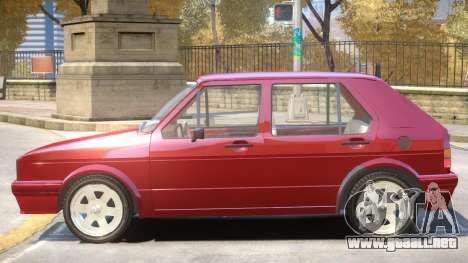1998 Volkswagen Golf V1 para GTA 4