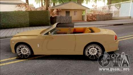 Rolls-Royce Dawn 2019 para GTA San Andreas