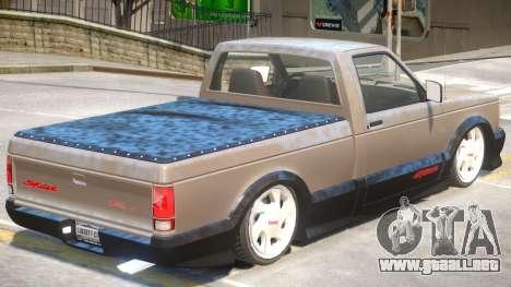 GMC Syclone V1 para GTA 4