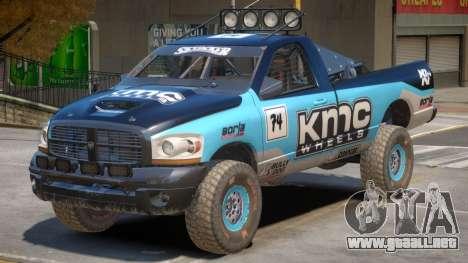 Dodge Power Wagon Baja V1 PJ5 para GTA 4