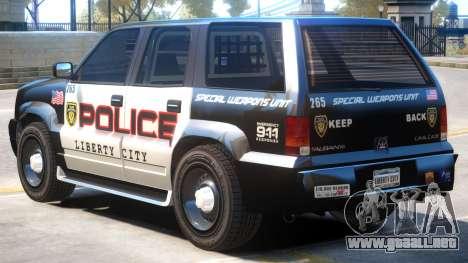 Albany Cavalcade Police para GTA 4