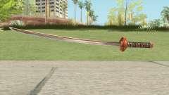 Orange Katana para GTA San Andreas