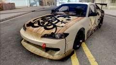 Nissan Silvia S15 Vinland Saga Paintjob para GTA San Andreas
