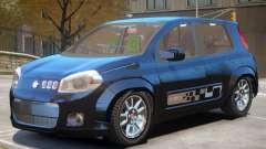 Fiat Novo Uno V1 para GTA 4
