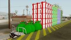 Christmas Railway Wagon