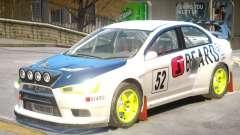 Lancer Evolution X V1 PJ5 para GTA 4