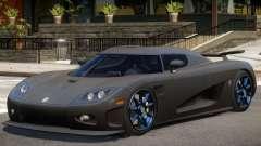 Koenigsegg CCXR Carbon para GTA 4