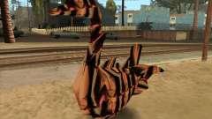 El profesor Lebedinsky en la forma de una palanca de forma-Swan para GTA San Andreas