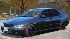 Lexus IS300 Stock para GTA 4
