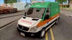 Mercedes-Benz Sprinter 2013 Ambulancia v3 para GTA San Andreas