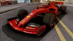 Ferrari SF90 F1 2019 Low Poly