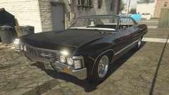 Chevrolet Impala 1967 Supernatural para GTA 5