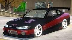 Nissan Silvia S15 V1.0 PJ para GTA 4