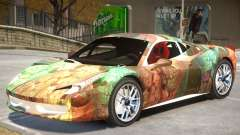 Ferrari 458 Challenge PJ5 para GTA 4