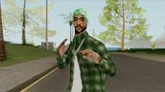 Groves Gangsta Ped (SA Style) para GTA San Andreas