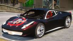 Ferrari 458 Challenge PJ3 para GTA 4