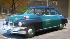 1948 Packard Eight V1 Police