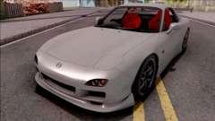 Mazda RX-7 Drift Grey para GTA San Andreas