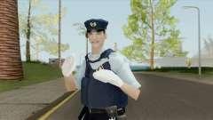 Japanese Police Skin para GTA San Andreas