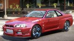 Skyline R34 V1 para GTA 4