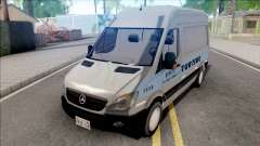 Mercedes-Benz Sprinter 2013 Comum v4 para GTA San Andreas