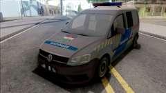 Volkswagen Caddy Magyar Rendorseg v2 para GTA San Andreas