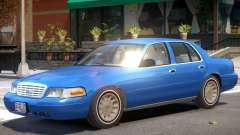 Ford Crown Victoria V1.1 para GTA 4