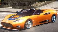 Spyker C8 V1.1 PJ3 para GTA 4
