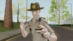 Leon Arklay Sheriff (RE2 Remake) para GTA San Andreas