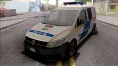 Volkswagen Caddy Magyar Rendorseg para GTA San Andreas
