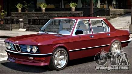 1982 BMW 518 E28 para GTA 4