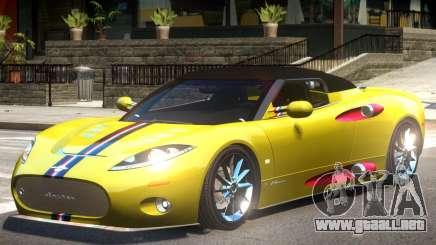 Spyker C8 V1.1 PJ1 para GTA 4