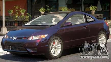 Honda Civic Si V1.2 para GTA 4