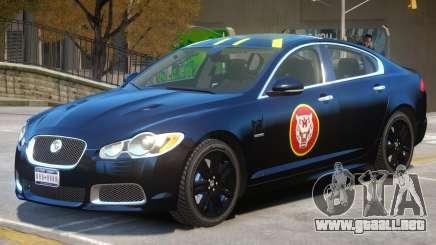 Jaguar XFR V1 PJ2 para GTA 4