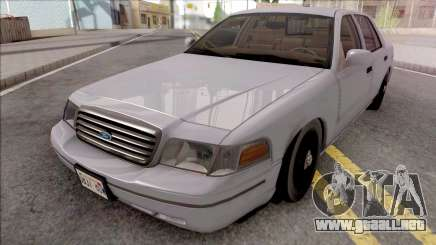Ford Crown Victoria Civil RHA para GTA San Andreas