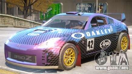 Nissan 350Z Drift V1 PJ2 para GTA 4