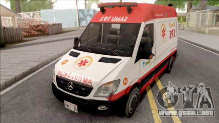 Mercedes-Benz Sprinter 2013 Ambulancia para GTA San Andreas