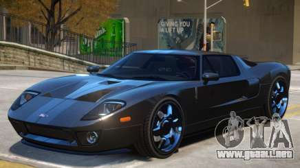 Ford GT Stock para GTA 4