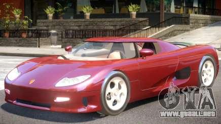 Koenigsegg CC8S V1 para GTA 4