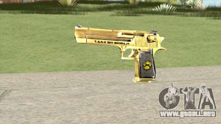 Desert Eagle Gold (French Armed Forces) para GTA San Andreas