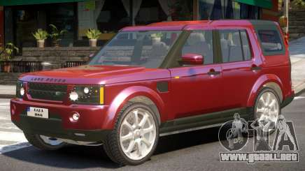 Land Rover Discovery 4 para GTA 4