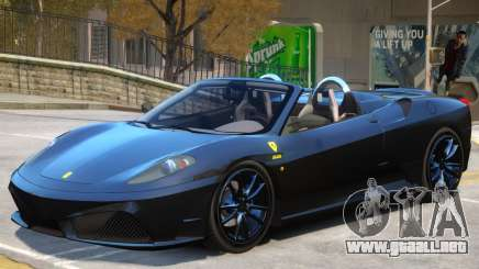 Ferrari 430 Roadster para GTA 4