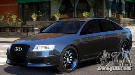 Audi RS6 V1 para GTA 4