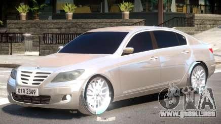 Hyundai Genesis Y08 para GTA 4