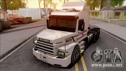 Scania 113H White para GTA San Andreas